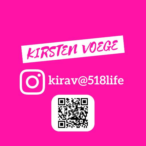 Kirsten Voege Social Media Feed INSTAGRAM QR CODE
