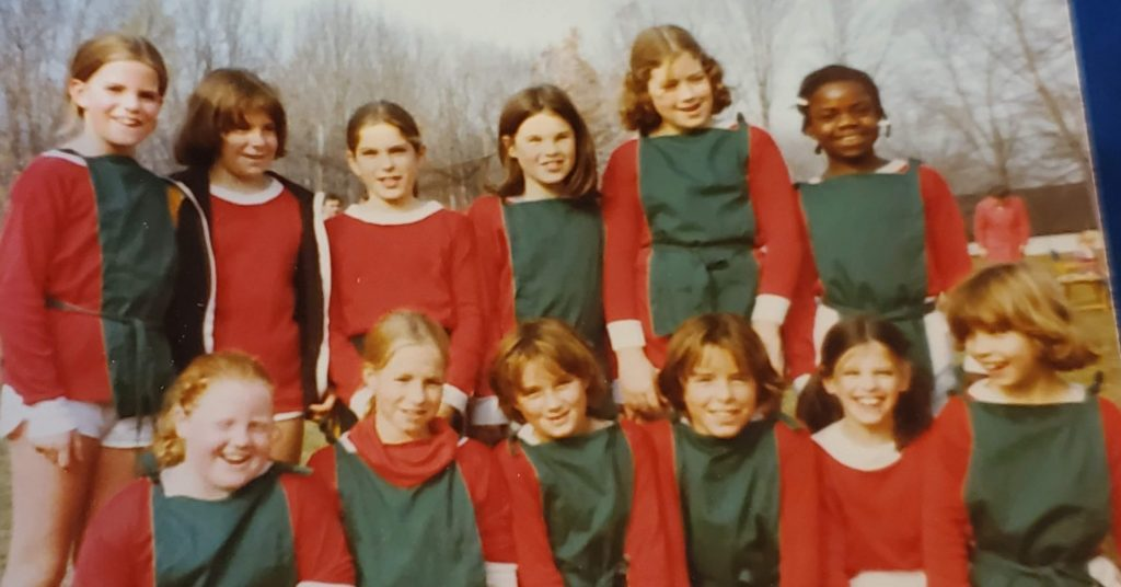 One of Kirsten Voege's first team sports was soccer. This is where Voege first learned about teamwork.